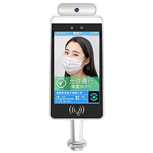 HHJY Intelligente Biometrische Anwesenheitsmaschine, 8 Zoll TFT Wiegand 26/34 RFID Zugangskontrolle, Mit Gesichtserkennung Für Die Anwesenheit Im Büro