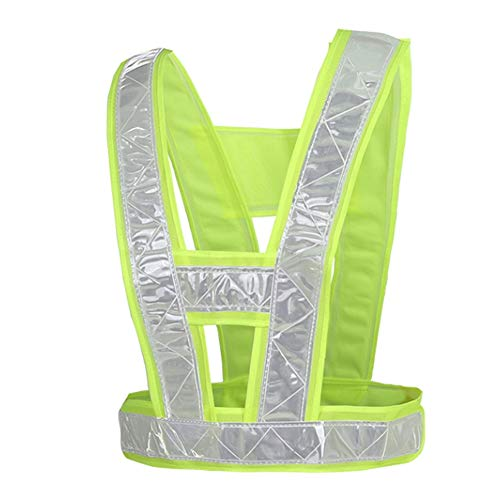 Ya-Ya Veiligheidsvest, reflecterend, Vest Vest Vest Traffic Inspection Running Sanitationcycling Uniform Night Safety Vest fluorescerend vest reflecterend veiligheidsvest