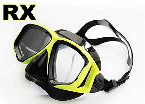Tauchermaske kurzsichtig - Taucher Tauchen Maske Schnorchel, Schwimmen Schnorcheln - Klargläser oder mit Rezept, Kurzsichtig, Kurzsichtigkeit, Kurzsichtig Taucherbrille (Different 2 Augen)