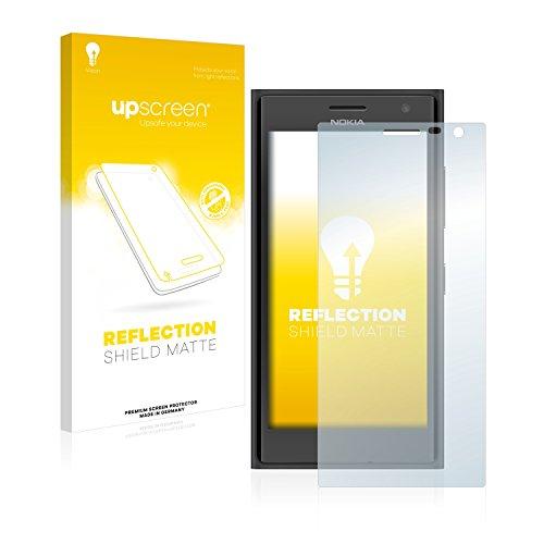 upscreen Entspiegelungs-Schutzfolie kompatibel mit Nokia Lumia 730 Dual SIM – Anti-Reflex Bildschirmschutz-Folie Matt