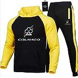 Gyulyaydin Hombres Jogging Chándal Col.N-Age Dos Piezas Raglán Sudadera con Capucha + Pantalones Casual/C/M sponyborty