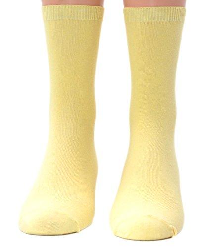 Shimasocks Kinder Socken uni 1 Paar, Farben alle:vanille, Größe:39/42