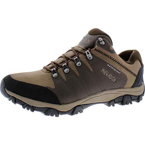 Nevados Mens Grand Low Waterproof Outdoor Hiking Boots Brown 12 Medium (D)