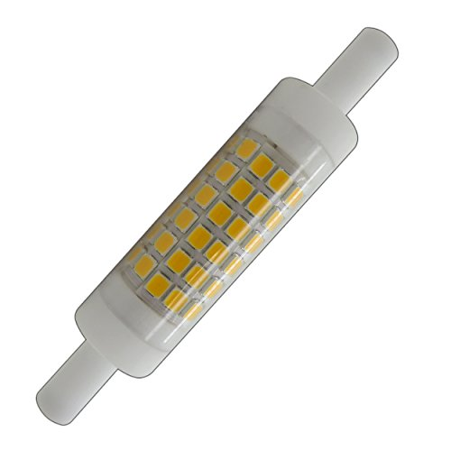 R7s LED 78mm x 15mm Leuchtmittel mini sehr klein warmweiß Stab Lampe (R7s 78mm x 15mm)
