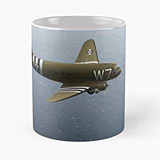 3rd Battalion 6 June 1944 37th Troop Carrier Squadron 43 30652 11 Oz Coffee Mugs Best Gift For Father Day