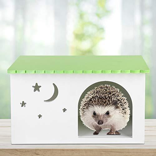 Lairun Caja de Erizo para Mascotas, Jaula Impermeable para Mascotas, Conejillos de Indias, casa para Conejos, para hámster