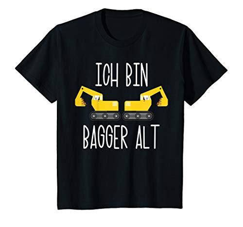 Kinder 2. Geburtstag Junge Bagger Geburtstagsshirt 2 Jahre T-Shirt