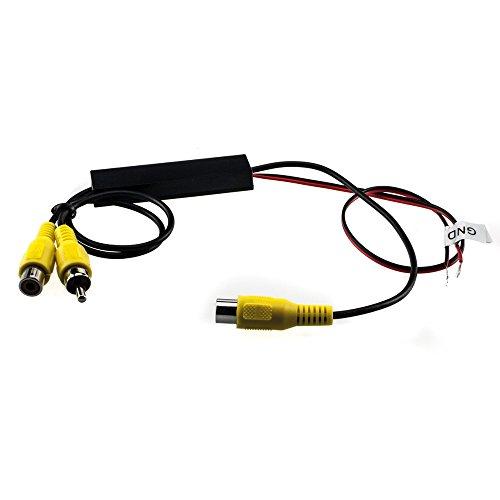 maxxcount 2X Cinch-Switch: Y-Adapter mit Umschalt-Automatik