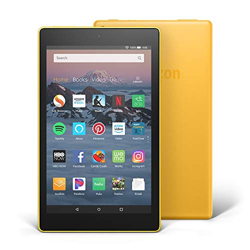 Fire HD 8 Tablet (8' HD Display, 16 GB) - Yellow