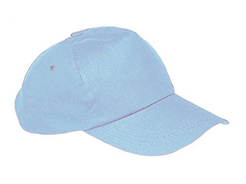 morefaz Unisex Jungen Mädchen Mütze Baseball Cap Hut Kinder Kappe TM (Hellblau)