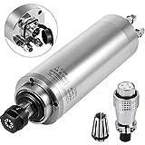 VEVOR Motor de Husillo Refrigerado por Agua ER20 2,2 KW 220 V, Kit de Motor de Husillo para Fresadora de Grabado 400 Hz, Motor Refrigerado por Agua Velocidad de 8,000-24,000 R/min de Alta Precisión