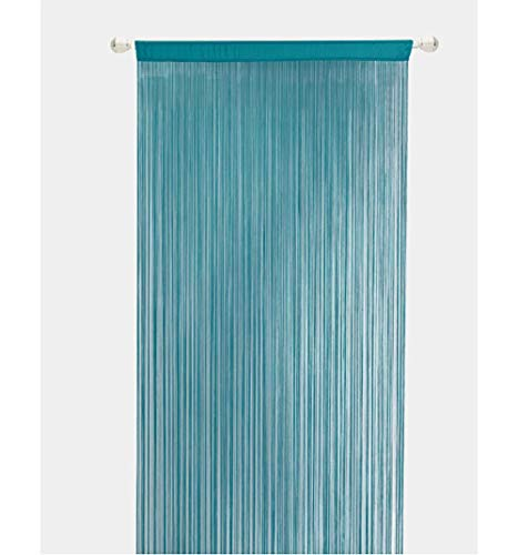 Ruosaren Knitting Beaded String Curtains with Pearl Beads Dense Fringe Beaded Door Tassel Curtains