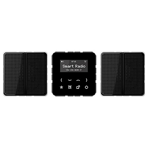Jung Rad 528 SW Smart Radio-Set Stereo Serie CD schwarz