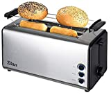 Toaster Langschlitz   4 Scheiben Toastautomat   XXL Toaster   1300 Watt   5-Stufen Bräuneregler  ...