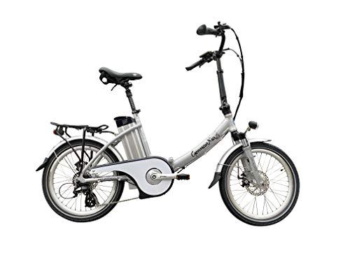 GermanXia E-Bike E-Klapprad/-Faltrad Mobilemaster Touring CH-15,6 7G Shimano 20 Zoll, eTurbo 250 Watt HR-Antrieb, mit 562 Wh bis zu 140 km Reichweite nach StVZO