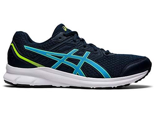 ASICS Men's Jolt 3 Running Shoes, 8M, French Blue/Digital Aqua