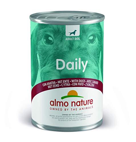 almo nature Dailymenu con Anatra Umido Cane Premium Confezione da 24 x 400 g