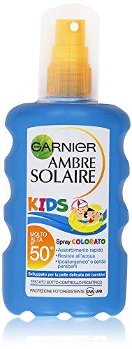 Garnier Ambre Solaire Kids Spray Colorato IP 50+, 200 ml