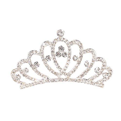 Ogquaton Couronne de mari/ée diad/ème princesse Couronne mariage Tiara Bride Prom /él/égant et populaire