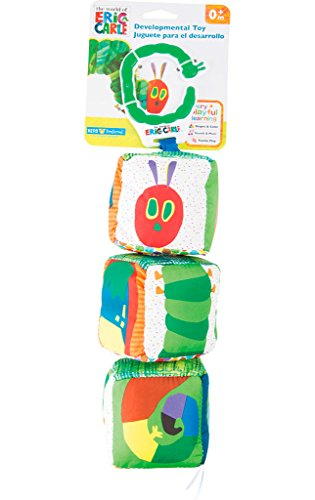 KIDS PREFERRED - 10404 - Jouet de Motricité Cube - La Chenille Qui Fait des Trous