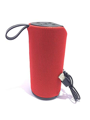 Grab Deal T113 Bluetooth Speaker Portable Wireless Speaker with Mic Super Bass - Multicolor