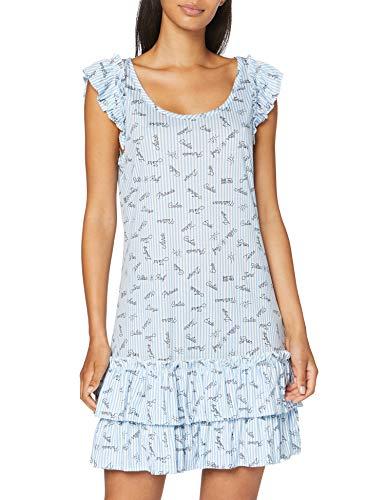 CALIDA Damen Viktor & ROLF Nachthemd, Placid Blue, M
