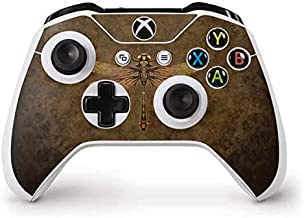 Skinit Decal Gaming Skin for Xbox One S Controller - Officially Licensed Tate and Co. Steampunk & Gear Dragonfly Design