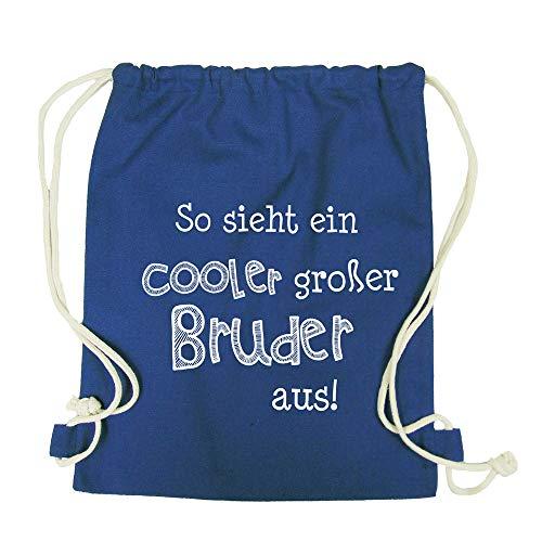 Partybob Kinder Rucksack Cooler großer Bruder (Navy)
