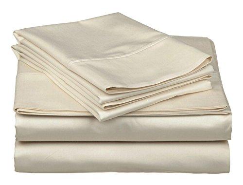 homelux beddings Homelux Ashley Taylor Designer Collection 6 Piece Sheet Set, Full Size, Beige