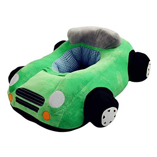 B Blesiya Auto Design Kindersitzsack Sitzsack Stützsitz Weichen Stuhl Kissen Sofa für Spielzimmer Baby Kinder - Grün