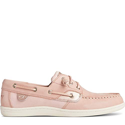 Sperry womens Songfish Boat Shoe, Blush, 9 US