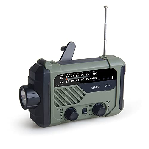 AnAnmei Radios d'urgence à manivelle solaire...
