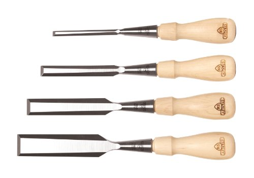STANLEY Sweetheart Chisels Set, 4-Piece (16-791)