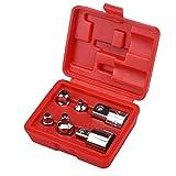 Ratsche Rennschlüsselbuchse Adapter Kopf Set für Auto Fahrrad Reparaturwerkzeuge 1/4 Zoll 3/8 Zoll 1/2 Zoll 6 stücke