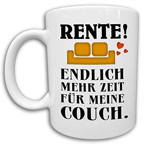 Rentner Tasse, Ruhestand Rente Geschenk Kollege, Lustige Rentner Sprüche Kaffeetasse