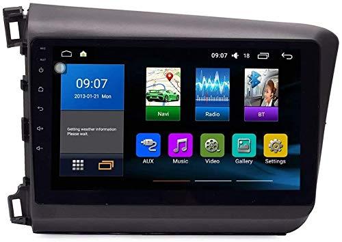 ZBHWYD mag.AL 2012-2015 Android 10 Coche Radio GPS Navegación Host IPS 2.5D Pantalla táctil Honda Civic Satellite Navigation Support SWC Control de teléfono móvil Vista Posterior Cámara