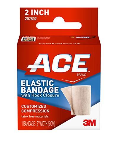 ACE - 544825 2' Elastic Bandage with Hook Closure, Beige (Pack of 2)