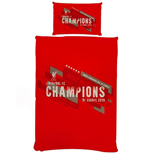Liverpool FC Champions of Europe Bettwäsche-Set Gr. Single, rot