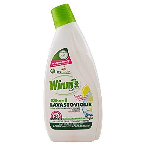 Winni's Naturel Detergente en gel para lavavajillas; 730 g.