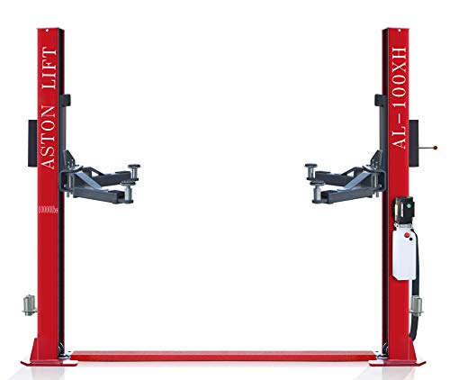 Aston 10000 lbs. Two Post Lift 2 Post car Lift Auto Truck Hoist Single-Point-Safety-Lock-Release