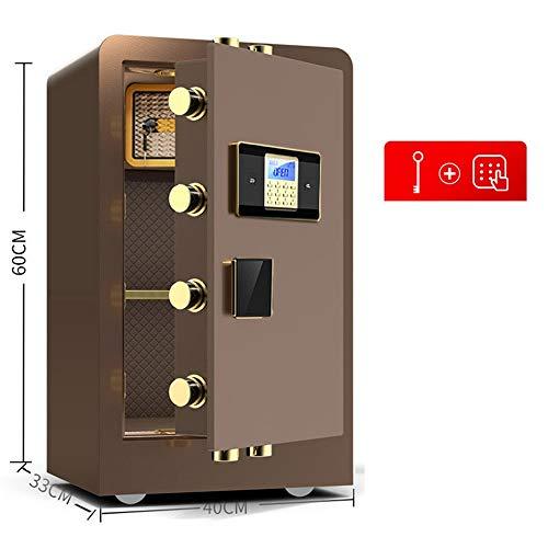 Zhengowen Caja Fuerte Caja Fuerte y Cerradura de Cajas de Dinero de la Caja Caja de Seguridad Digital Teclado Caja armarios de Acero de construcción Cajas de Seguridad para el hogar