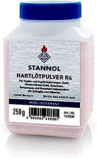 Stannol Brazing Powder 250g - R4-142030, Brazing Powder for brazing copper and copper-nickel alloys, brass, nickel silver,...