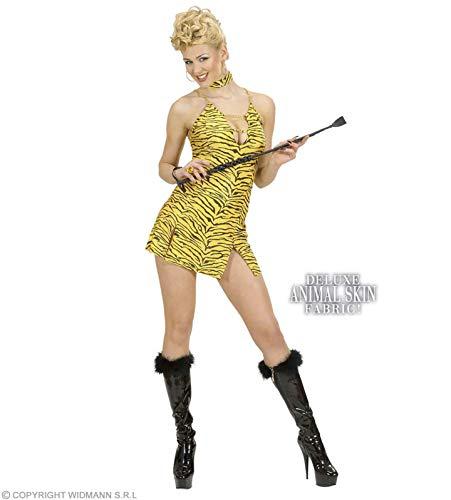 Widmann Kostüm-Set Sexy Tiger-Kleid, GröÃ?e M