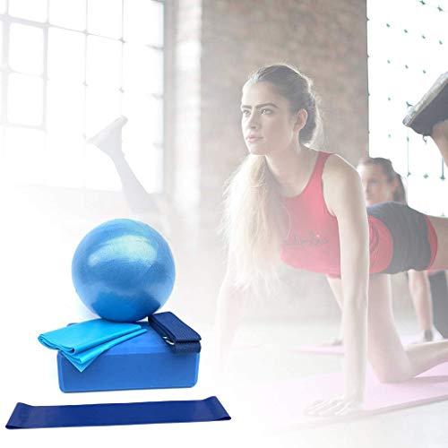 nobran - Yoga-Starter-Sets in Blau