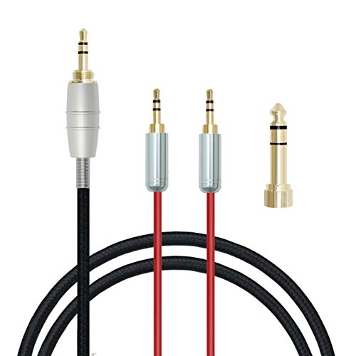 micity Ersatz Upgrade Audio Verlängerungskabel für HiFiMAN he400s he-400i HE560he-350he1000he1000V2Kopfhörer