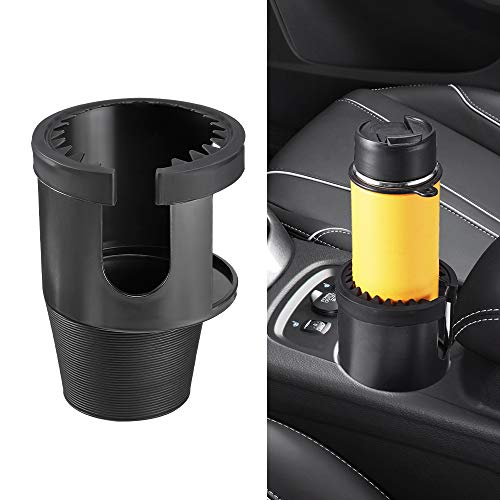 JoyTutus Cup Holder Expander Large Cup, Cup Holder for Car Fits Most Size Cup Holder Extender for Nalgene Contigo Yeti Rambler