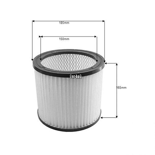 Filter, Rundfilter geeignet für FAM Aquavac, Waschbar
