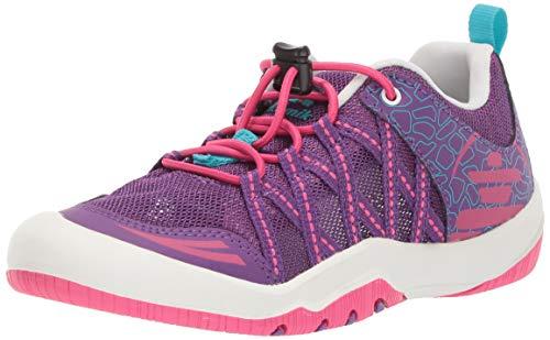 Kamik Girls' Scout Sneaker, Purple/Pink, 2 M US Little Kid
