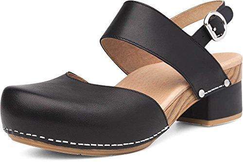 Dansko Women's Malin Black Sandal 8.5-9 M US