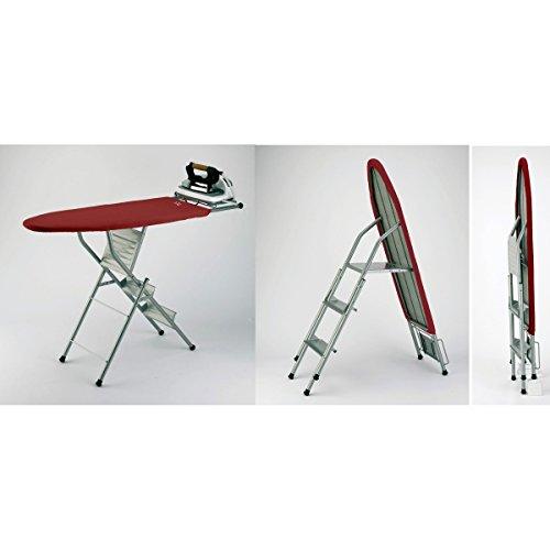 Jata 848S Multifunktions-Bügelbrett und Leiter